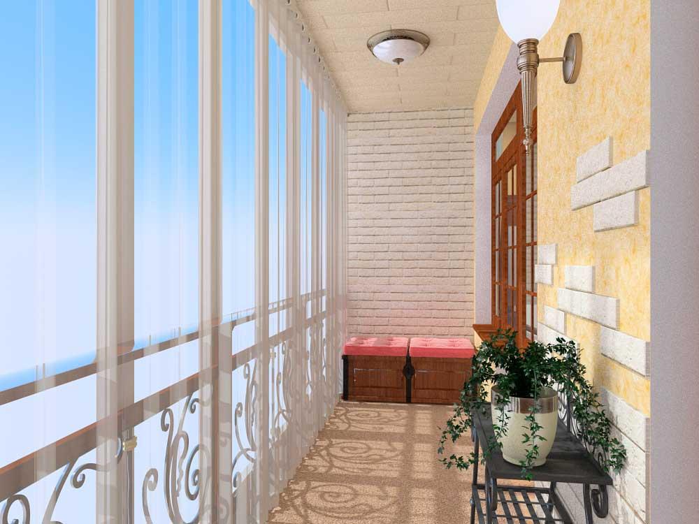 Дизайн отделка балкона внутри фото.